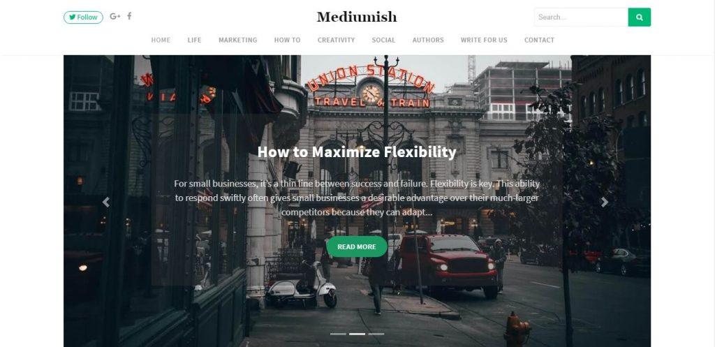 Jasa Install Theme Mediumish WordPress
